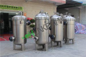 Edelstahl-Becken-Beutelfilter-Gehäuse für Lebensmittelindustrie