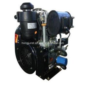 27HP 공기에 의하여 냉각되는 쌍둥이 실린더 디젤 엔진
