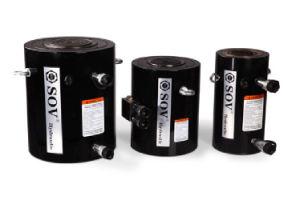 500 тонн Electricl большой высокое рабочее усилие зажима гидравлический цилиндр двойного действия