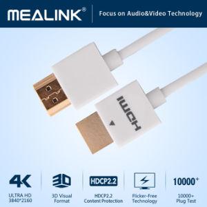 Dünnes HDMI Kabel des kleinen Verbinder-(YLC-HPX1W)