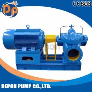 Haut débit de pompe à eau d'aspiration double avec habillage pluie