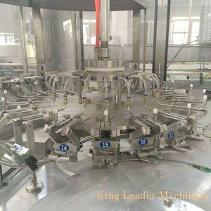 Líquido automático de agua potable purificada de lavado con agua mineral Máquina Tapadora de llenado