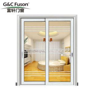 Portello scorrevole di alluminio variopinto attraente di garanzia di qualità