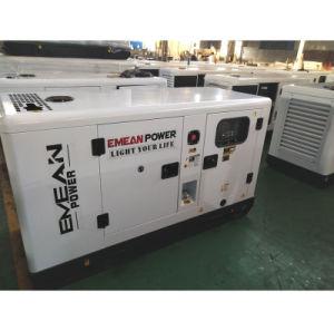 우수한 힘 7kw 8.75kVA 트레일러 침묵하는 디젤 엔진 발전기 Genset