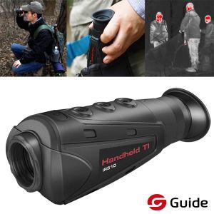 Dispositivo de bolsillo pequeño ámbito Térmica de infrarrojos de Visión Nocturna Monoculares de caza con 1300m de distancia de detección, el enfoque de 19mm
