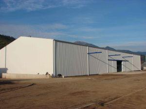 Сборные легких стальных структуре склада