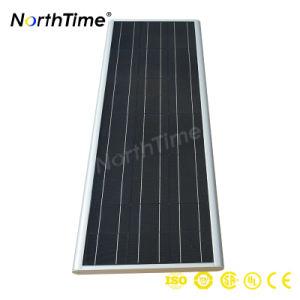 40W 60W 90W 120W 150W 200W Chip Bridgelux IP65 impermeável ao ar livre em um único sistema integrado de LED Solar Luz de Rua