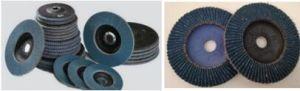 4 青い折り返しディスク17500rpm研摩剤ディスク