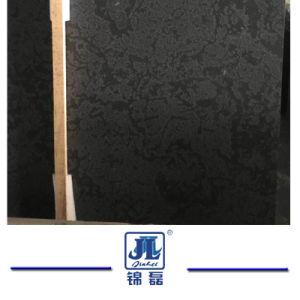 Het natuurlijke Marmer van de Opgepoetste/Antieke/het Zwoegen Zwarte Diamant voor de TegenBovenkant/Tegels/Plakken/Tegel van de Bevloering/Muur Clading