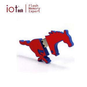 2D 3D на заводе Custom ПВХ резиновые поддержку флэш-накопитель USB накопитель ракет