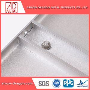 Non-Combustible Stevige Comités van het Aluminium PVDF voor Decoratieve Voorzijde
