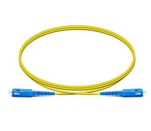 Überbrückungsdraht-Änderung- am Objektprogrammkabel-Änderung am Objektprogramm der Faser-Sc/LC/FC/St/Mu/E2000 führt Faser-Optiksteckschnür-Faser-Optikkabel