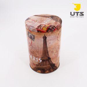 Comercio al por mayor Bombones /Cookie de metal de tamaño personalizado Tin Box M, la Cookie de Metal Metal Box Caja de regalo