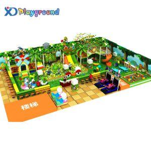 O parque de diversões infantil comercial equipamentos de playground coberto suave