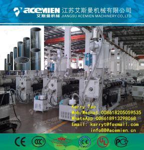 플라스틱 HDPE 가스 공급 관 생산/밀어남 선 또는 만들기 기계
