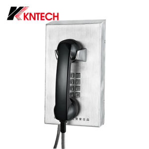 Вандалозащищенная камера Kntech доказательства телефон Knzd-10 тюрьме телефон телефонных