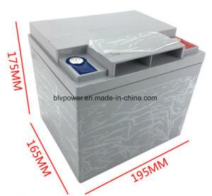 AgvのロボットUPSのための12.8V 50ah 2000cycles 80ampereの再充電可能なLiFePO4電池