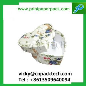 Custom de estilo retro pendientes de verificación hexagonal con bandeja interior de la caja de té Caja de embalaje de alimentos