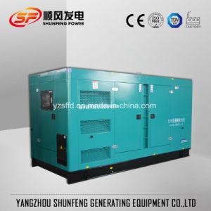 560kw Puissance silencieuse Générateur Diesel avec la Chine moteur Shangchai SDEC