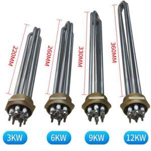 8-16 mm usado Fast-Heating Industrial Flange de imersão do elemento do aquecedor de água