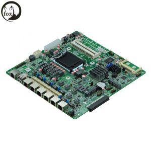 6 근거리 통신망을%s 가진 방화벽 기구 어미판 ATX, 6*Intel 82574L Or82583 기가비트 (B75SL VER: 1.2)