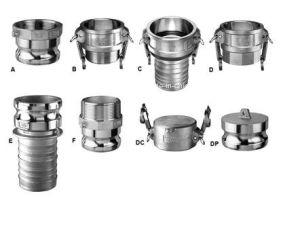 Usinagem de fundição de cera perdida excêntrico de ranhura do conector de acoplamento rápido (tipo DP)
