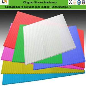 PC Panneau en plastique PP UV du soleil Extrusion Making Machine