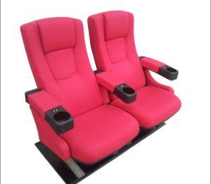 映画館の椅子(f)を揺する映画館の椅子の劇場の座席