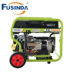 2KW 6.5HP gasolina gerador de gás Home Use Lingben Pequenos produtores