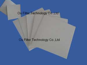 Het Filtreerpapier van de bradende Olie Of het Filtreerpapier van de Tafelolie