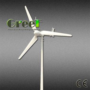 7,5 kw Turbine éolienne à axe horizontal hors réseau et le système complet de la grille