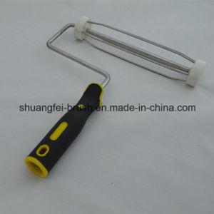 9  *5 Walzdraht-Durchmesser: 8.0mm überzogener Zink-Lack-Rollen-Griff mit dem 38mm Rahmen