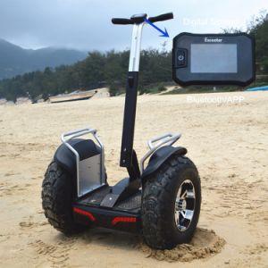 Dubbele Batterij Twee van Ecorider de e-Autoped van de Scooter van het Wiel de Elektrische Elektrische Elektrische Fiets van de Fiets