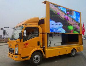 P6 P10の表示板のトラックを広告する専門の供給の移動式外のドアLED