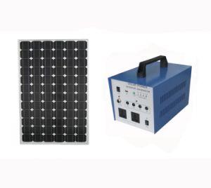 sistema solare di corrente alternata 80W per zona difficile di elettricità con l'invertitore puro dell'onda di seno