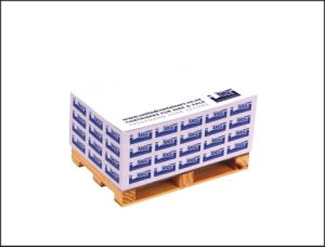 Logotipo personalizado papel paletes promocionais Memo Cube Nota Cube