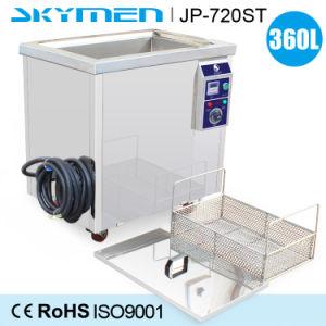 360L temporizador digital potência de aquecimento ajustável para aluguer de aeronaves, peças de motor Industrial de limpeza por ultra-som