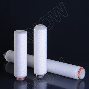 Prefiltrationのための0.45um Economical PP Membrane Pleated Filter Cartridge