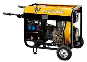 Guter luftgekühlter Dieselgenerator der Qualitäts5kw/5kva 4-Stroke