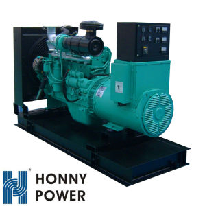 Honny motor Cummins 6bt5.9g2 Silent 80kw gerador diesel