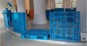 Paletes de plástico empilháveis Pesado 1200x1200x150mm com deck Fechado