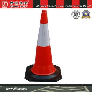 100cm 5kgs en Arabie saoudite Standard cône d'avertissement de sécurité routière (CC-A04)