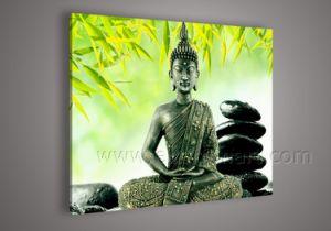 A arte de Buda artesanais pintura a óleo para a decoração de paredes (BU-045)