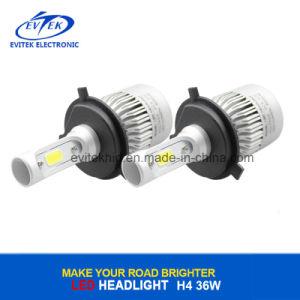 36W 4000lm 6500k H4 S2の穂軸車LEDのヘッドライト、ファンが付いているLEDのヘッドランプ
