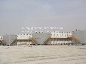 Estructura de acero de dos pisos personalizado Edificio Modular prefabricado como temporales prefabricados casa