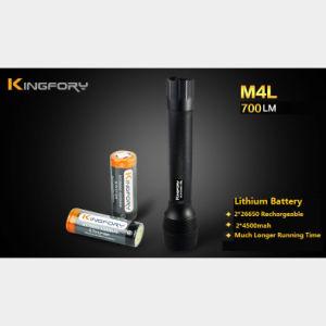 Torcia tattica professionale resistente di acqua di M4l 700lm ed anticollisione della torcia elettrica del LED
