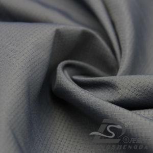 75D 260t tecidos Plaid 100% poliéster Jacquard Pongées Fabric (XNE165H)