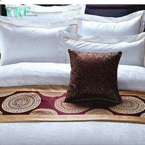 贅沢な寝具の一定のサテン仕上げ