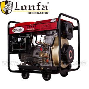 6kVA 전기 디젤 엔진 발전기 판매를 위한 휴대용 Kama 디젤 엔진 발전기