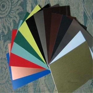 Colorido ou folha de alumínio anodizado escovado de Shell do Telefone Celular